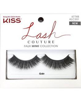 KISS KLCS01C - LASH COUTURE MINK 01 - GALA with Glue