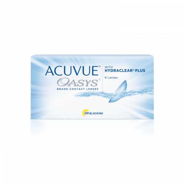 ACUVUE OASYS HYDRACLEAR PLUS