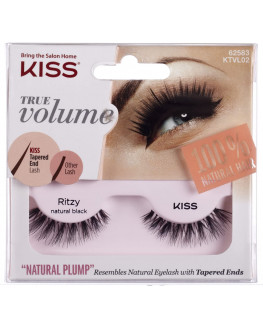 KISS KTVL02C - Kiss True Volume Lash - Ritzy w/Glue